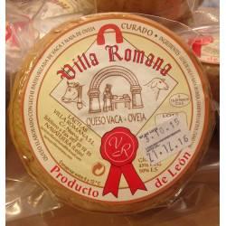 Queso de vaca y nata de oveja Lácteas Villa Romana