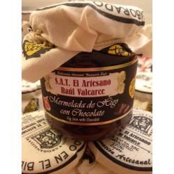 Mermelada de higo del Bierzo con chocolate, Raúl Valcarce, de lo Nuestro lo Artesano