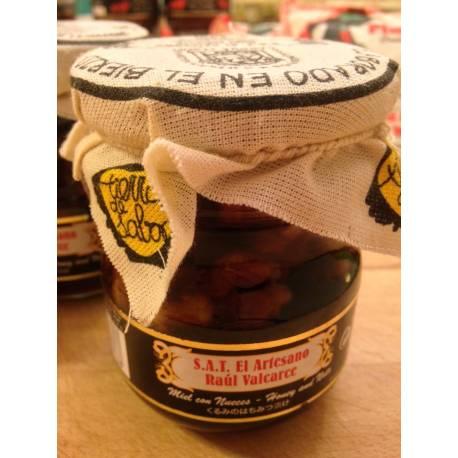 Miel con nueces del Bierzo S.A.T. El Artesano Raúl Valcarce