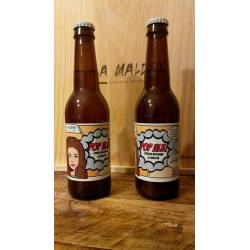 Cerveza Artesana La Maldita Pop Ale 16 x 33 cl.