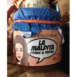 Mermelada de Cerveza Artesana La Maldita Citrus-Pepper