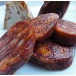 Chorizo de León dulce embutidos Joman