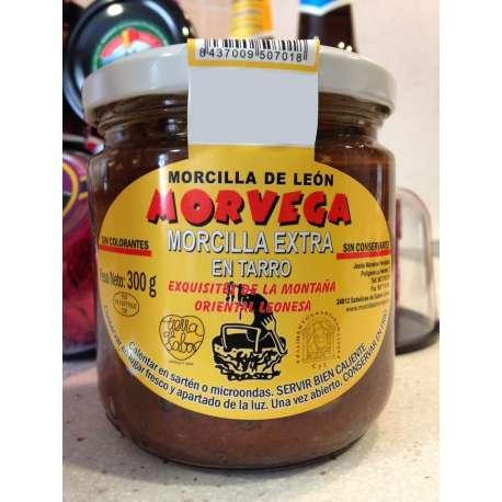 Crema de morcilla Morvega 300 grs.