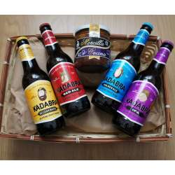 Cesta Regalo Cerveza Kadabra-Morcilla con Cecina