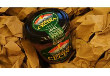 Crema de Cecina 130 grs.